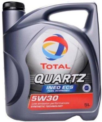 TOTAL Quartz INEO ECS 5L Мастило моторне TOTAL (шт.)