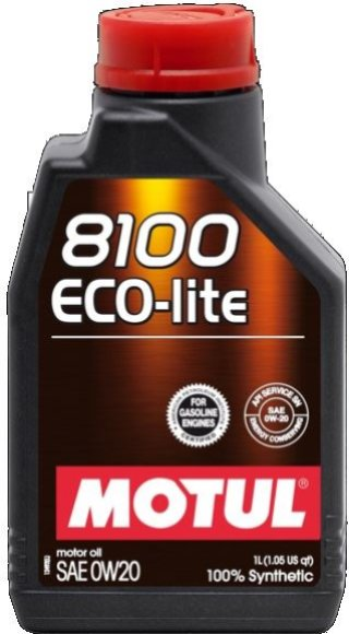 OLEJ MOTUL 0W-20 8100 ECO-LITE 1L