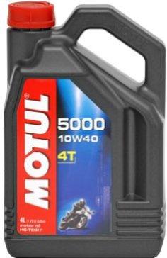 OLEJ MOTUL 10W-40 4T 5000 HC-TECH 4L