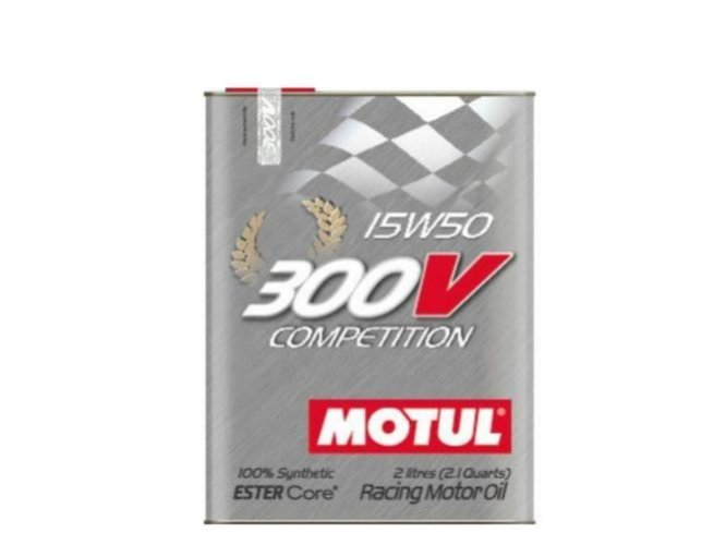 OLEJ MOTUL 15W-50 300V COMPETIT 2L