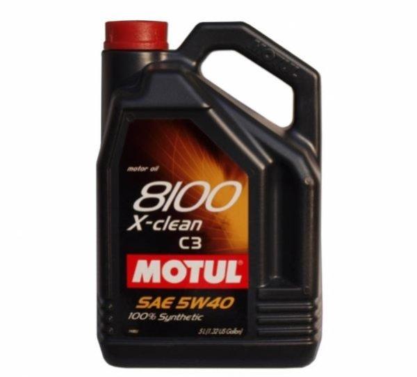 OLEJ MOTUL 5W-40 8100 X-CLEAN 5L C3