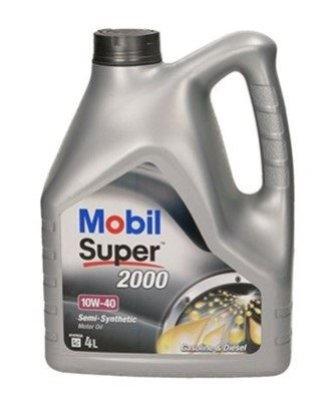 OLEJ MOBIL 10W-40 SUPER 2000 4L