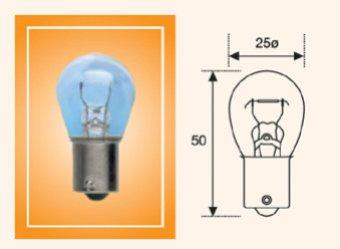 Лампа накаливания, фонарь указателя поворота; Лампа накаливания, фонарь сигнала торможения; Лампа накаливания, задняя противотуманная фара; Лампа накаливания; Лампа накаливания, фара заднего хода