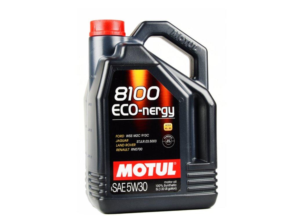 OLEJ MOTUL 5W30 5L 8100 ECO NERGY / A5/B5 / WSS M2C 913C / RN0700 / HONDA / VOLVO