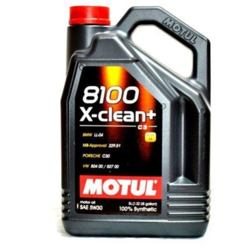 OLEJ MOTUL 5W30 5L 8100 X-CLEAN+ / 504.00 507.00 / 229.51 / LL04 / C30