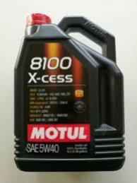 OLEJ MOTUL 5W40 5L 8100 X-CESS / 502.00 505.00 / 229.5 226.5