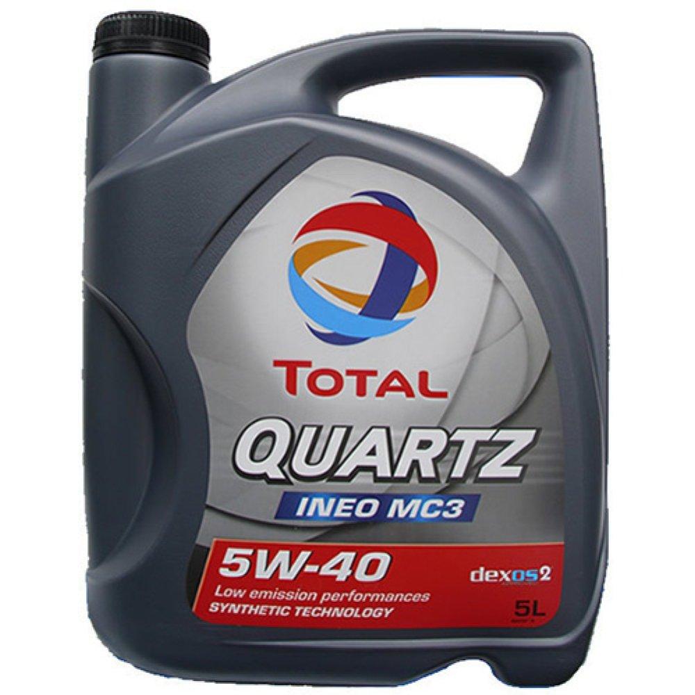 OLEJ TOTAL QUARTZ 5W40 5L INEO MC3 / 229.51 / 502.00 505.01 / LOW SAPS
